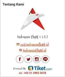 CS Indonesia Flight