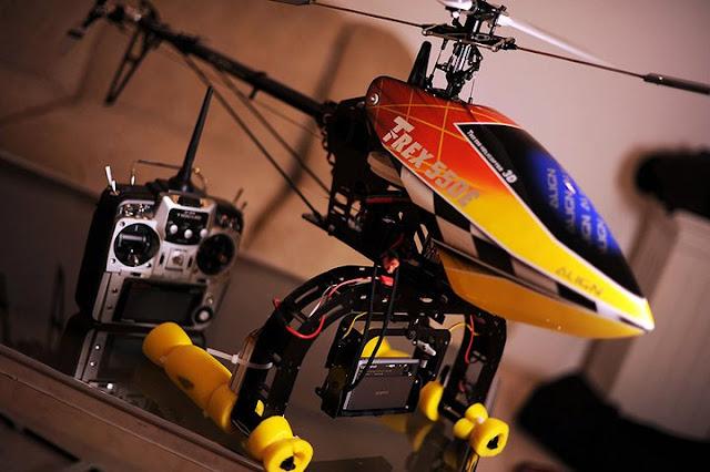 Helicam yang merupakan cikal bakal drone fotografi