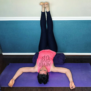 5 Yoga Poses When You Just Can't