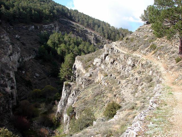 senderismo Calomarde Barranco de la Hoz