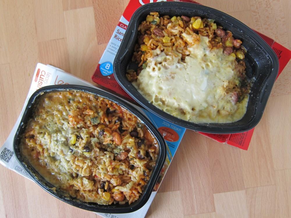 Nutrisystem vs lean cuisine for Lean cuisine vs fast food
