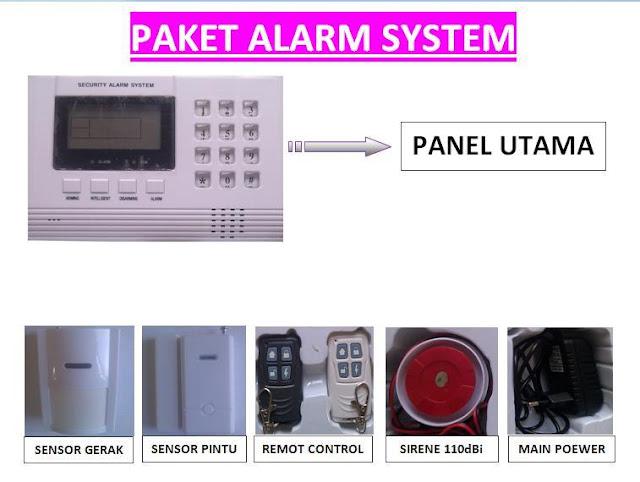 Jasa pasang alarm system