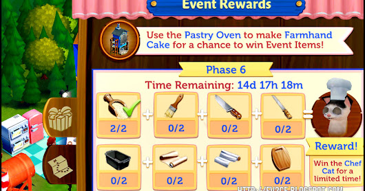 FarmVille 2: Country Escape Confectionery Event - Phase 6