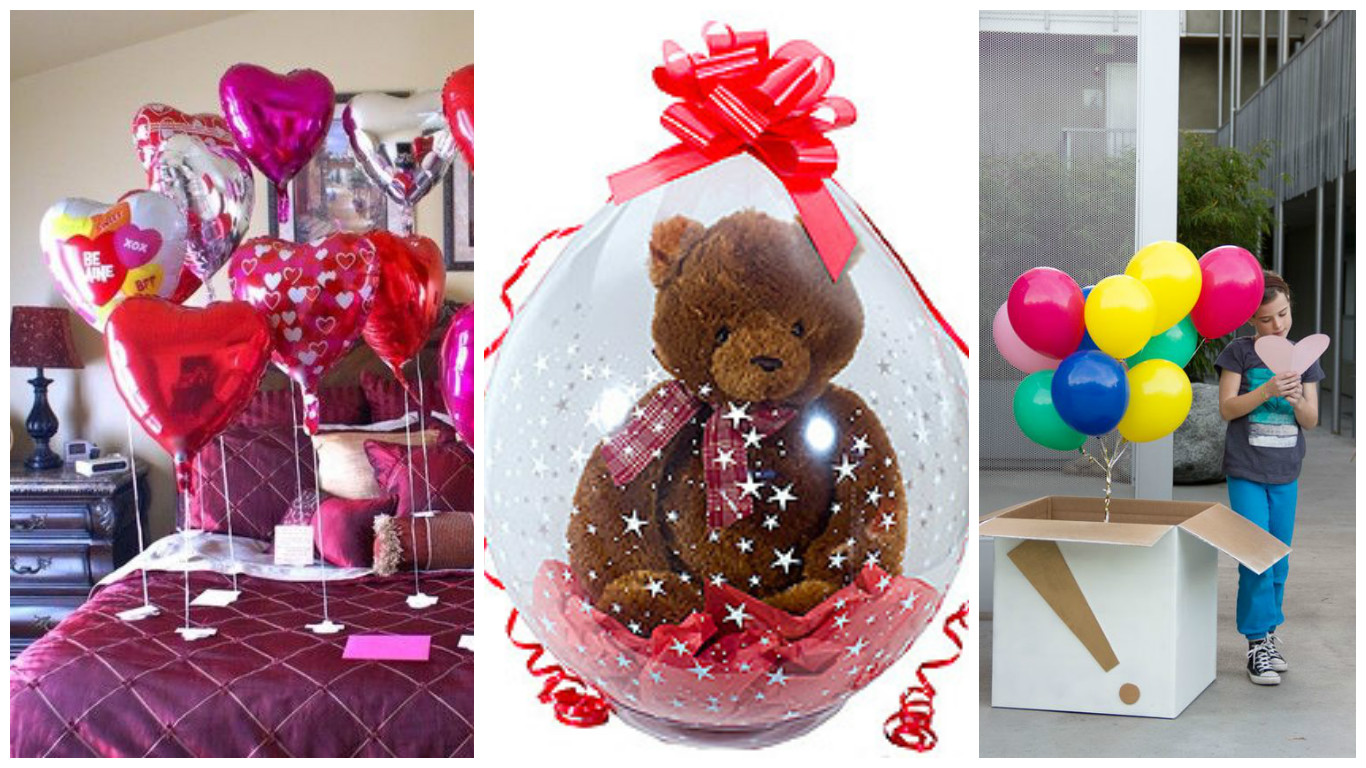 Regalos caseros con globos para este 14 de febrero for Habitacion 14 de febrero