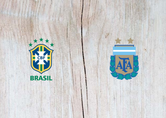 Brazil vs Argentina  Highlights & Full Match 16 October 2018