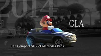 Mario Kart 8 Mercedes-Benz GLA Compact SUV DLC