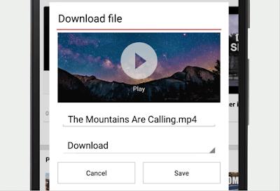 Dengan Opera Mini Kini Anda Bisa Download Video Dengan Bebas