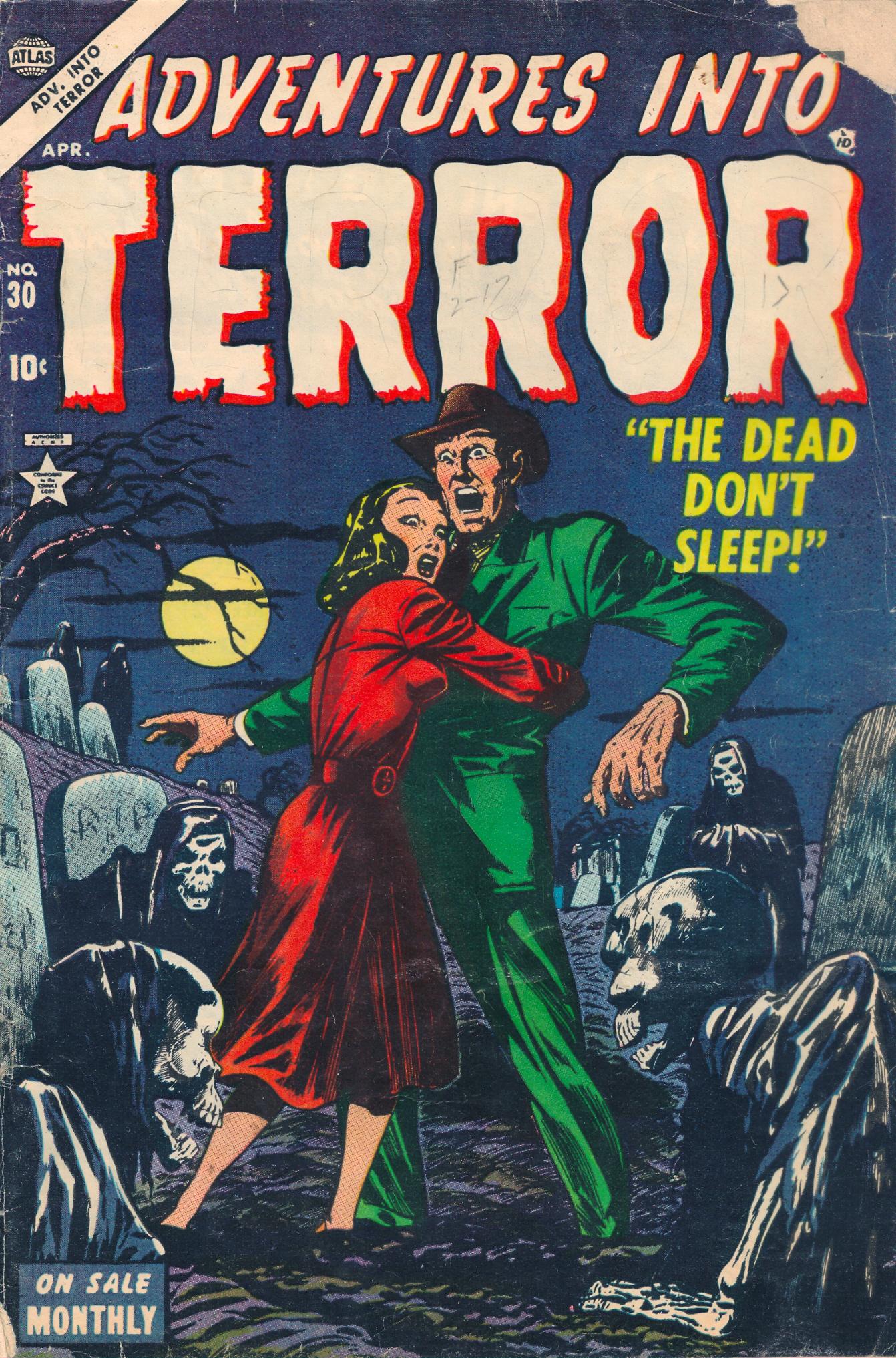Adventures into Terror 30 Page 1