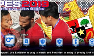 Download Game PES 2019 Lite ISO PPSSPP MOD Timnas U22 Indonesia