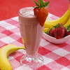 Banana Strawberries Smoothie Healthy