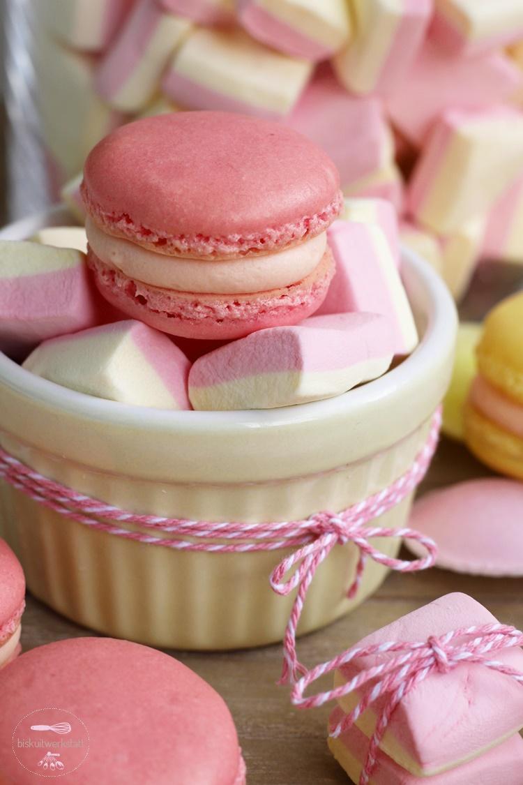 Ein Traum In Pastell Marshmallow Macarons Biskuitwerkstatt