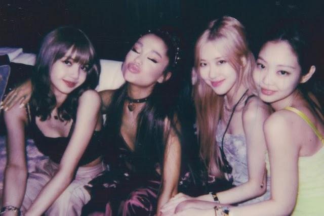 Ariana Grande Shares Snapshot With BLACKPINK Members