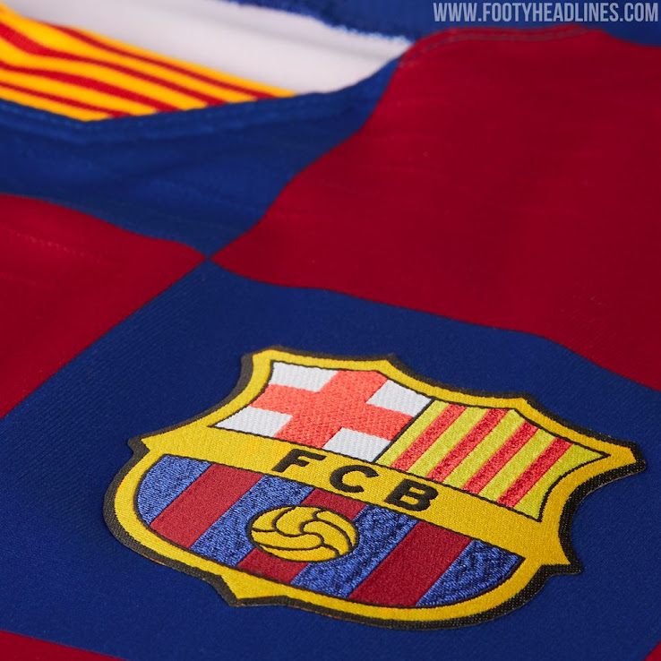 Barcelona 19-20 Home Kit Revealed - Footy Headlines