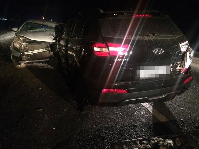 В Башкирии столкнулись три автомобиля: погиб мужчина