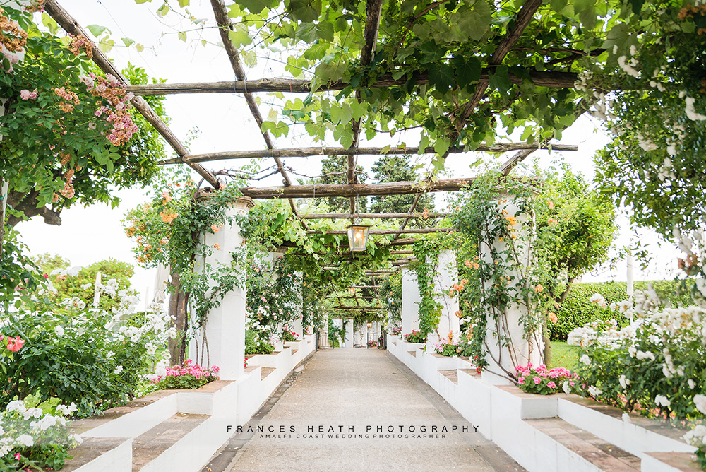 Caruso garden walkway