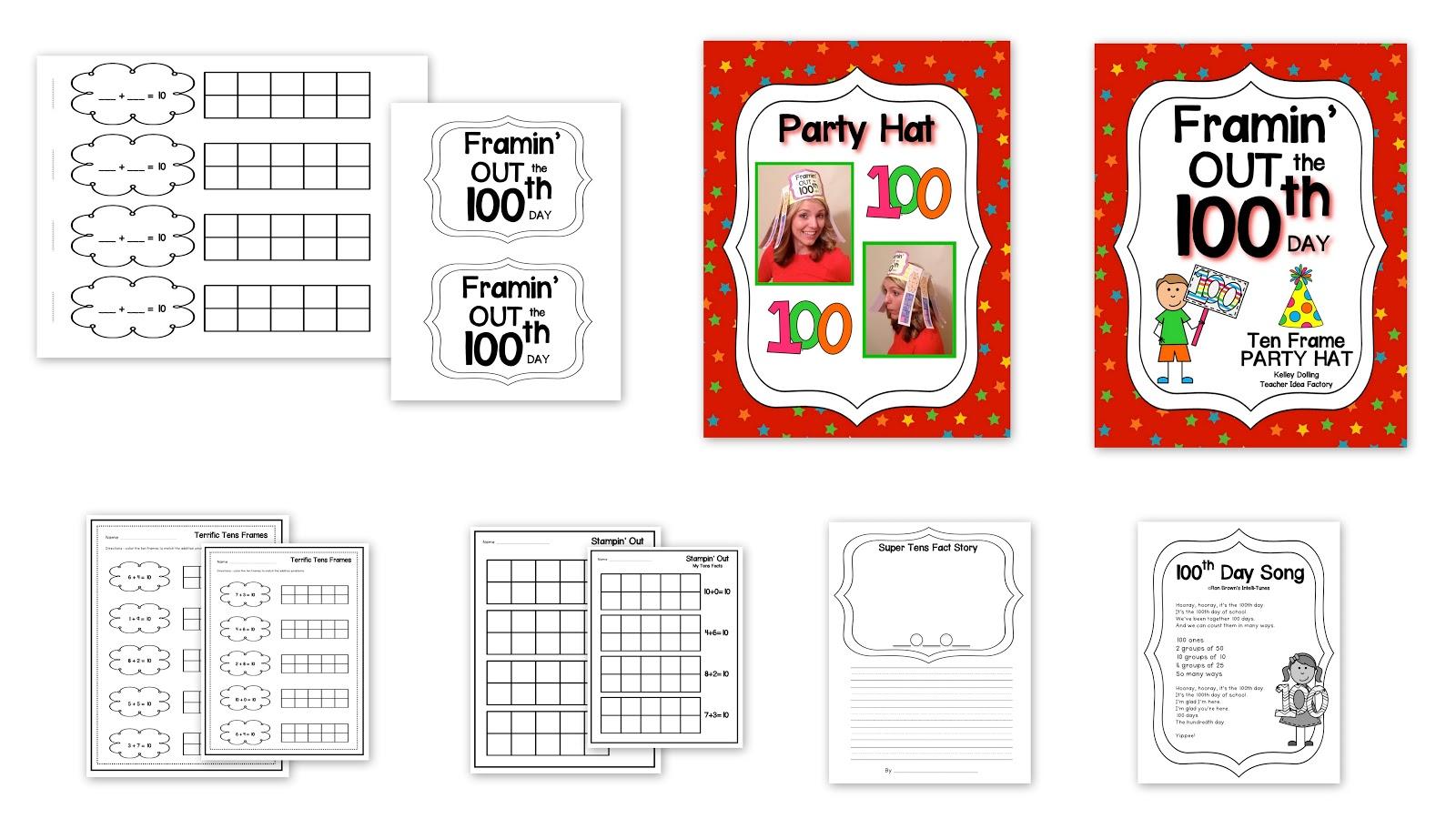 Teacher Idea Factory Hooray It S The 100th Day