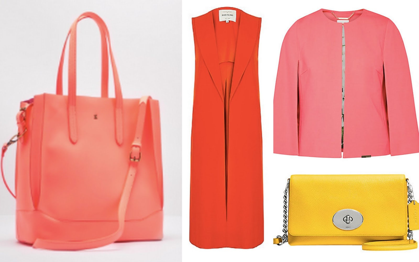 Bristol Fashion Week Spring Summer 2016 Bright Colour Wishlist