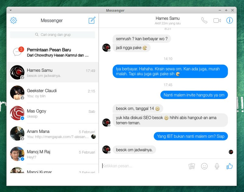 facebook messenger for windows desktop free download