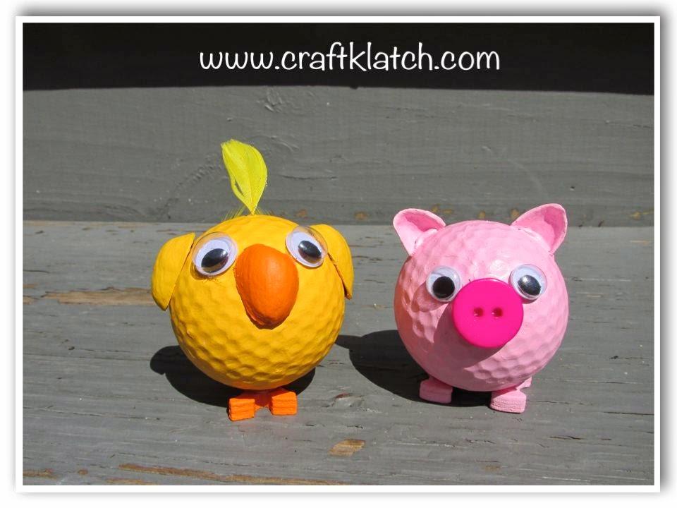 Crafts Using Old Golf Balls