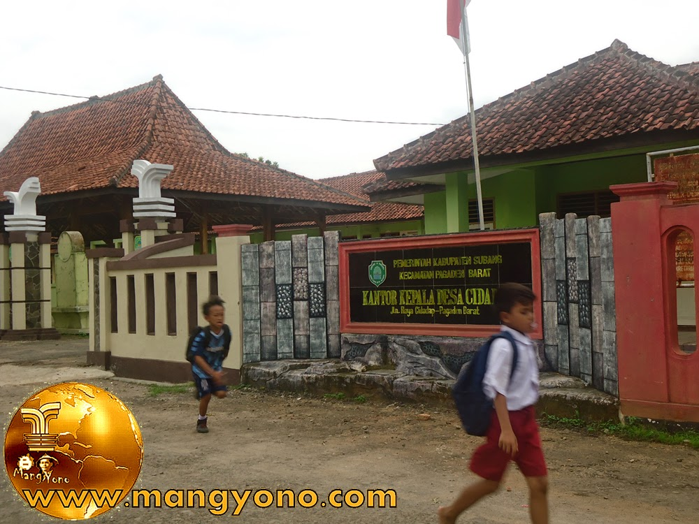 Kantor kepala desa Cidadap Jl. Raya Cidadap - Pagaden Barat