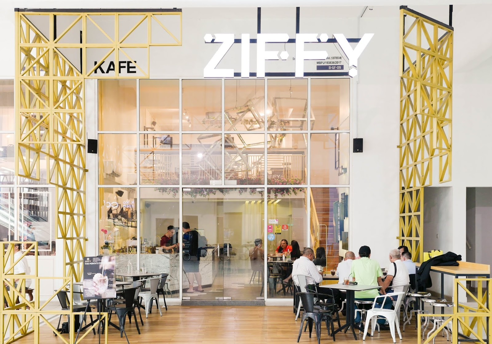 2018 menu: ziffy kitchen, kota damansara