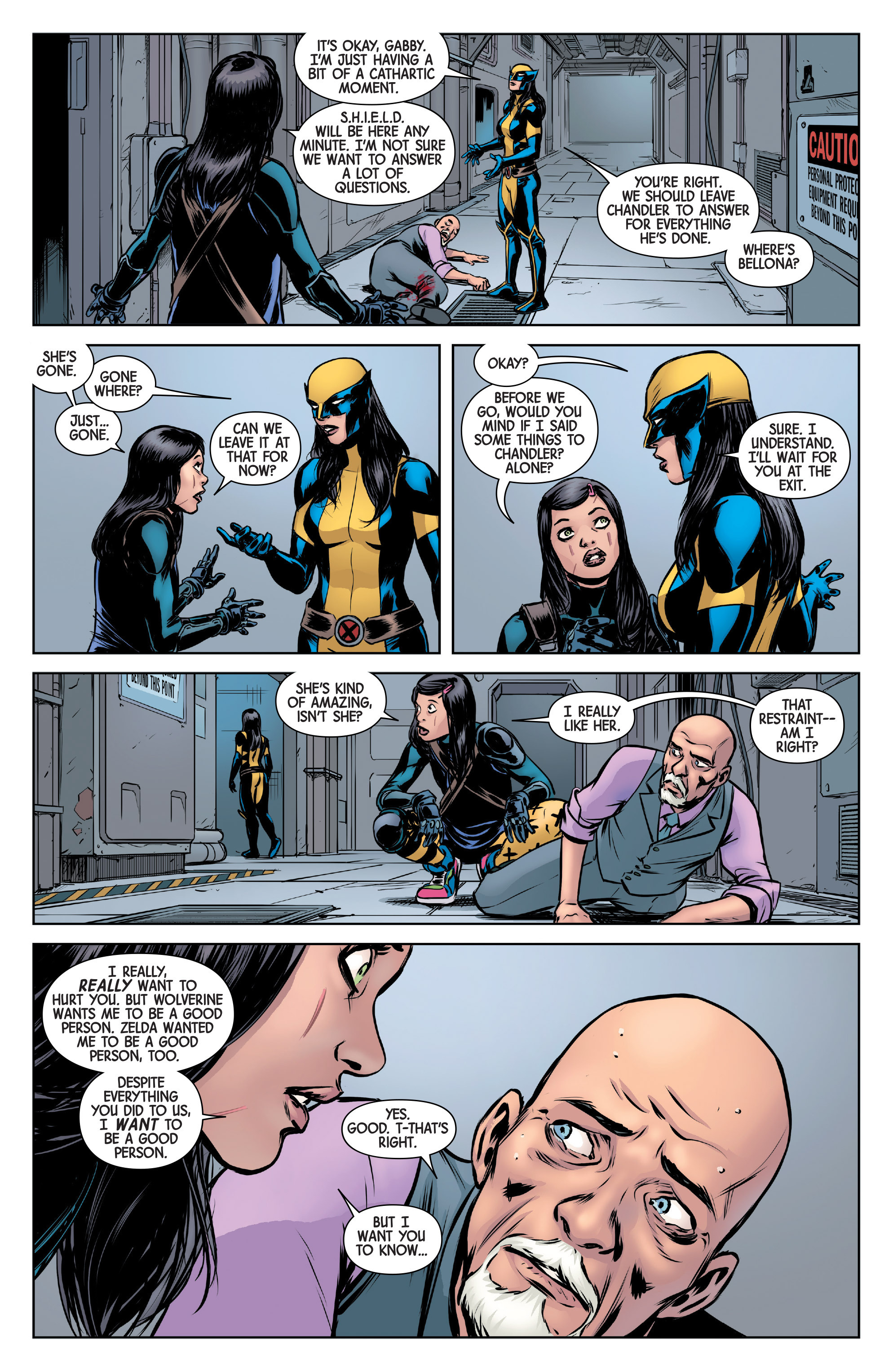 Read online All-New Wolverine (2016) comic -  Issue #6 - 19