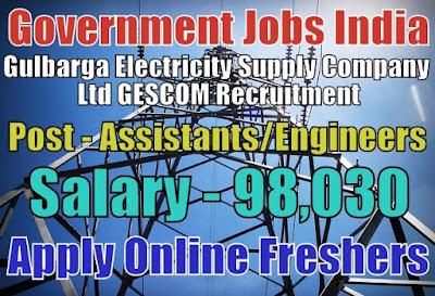 GESCOM Recruitment 2019