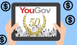 شرح طريقة ربح 50 دولار عن طريق الإستطلاعات من موقع yougov