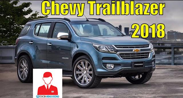 Chevrolet Trailblazer 2018: Thông tin giá và thời gian giao xe dự kiến trong năm 2018 ảnh 2