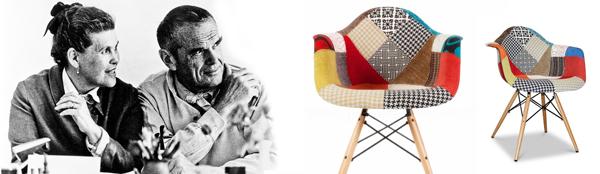 vợ chồng Ray và Charles Eames