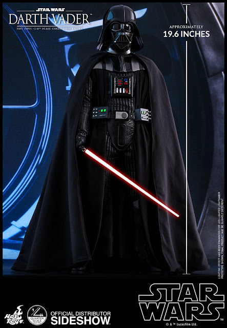 Hot Toys Star Wars Return of the Jedi 50cm Tall Darth Vader (Special Edn) Quarter Scale Figure