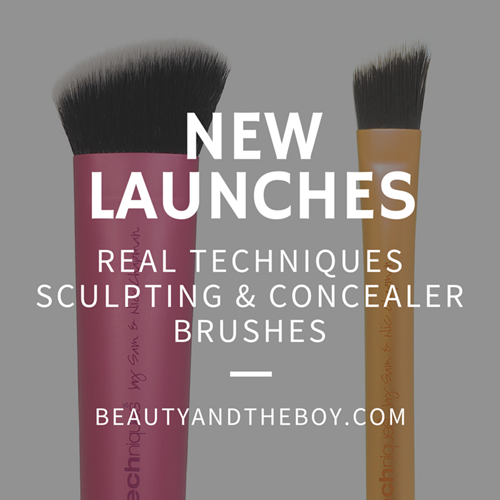 Real Techniques set to launch Sculpting & Concealer brushes