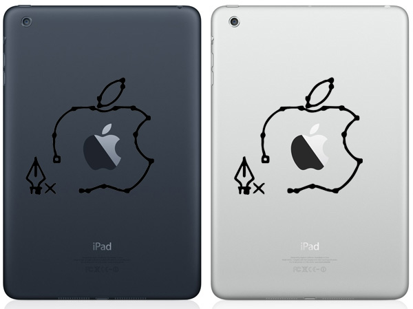 Pen Tool iPad Mini Decals
