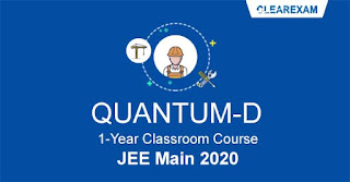 JEE Main Classroom Course - One Year QUANTUM D