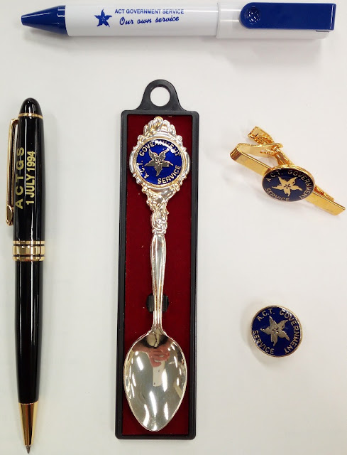 Souvenir memorabilia issued in honour of the commencement of the ACTPS