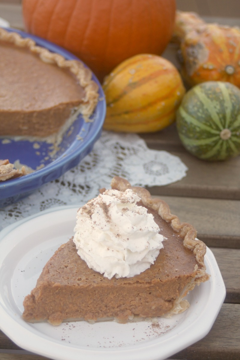 Crazy for Cookies and more: Extra Spicy Pumpkin Pie