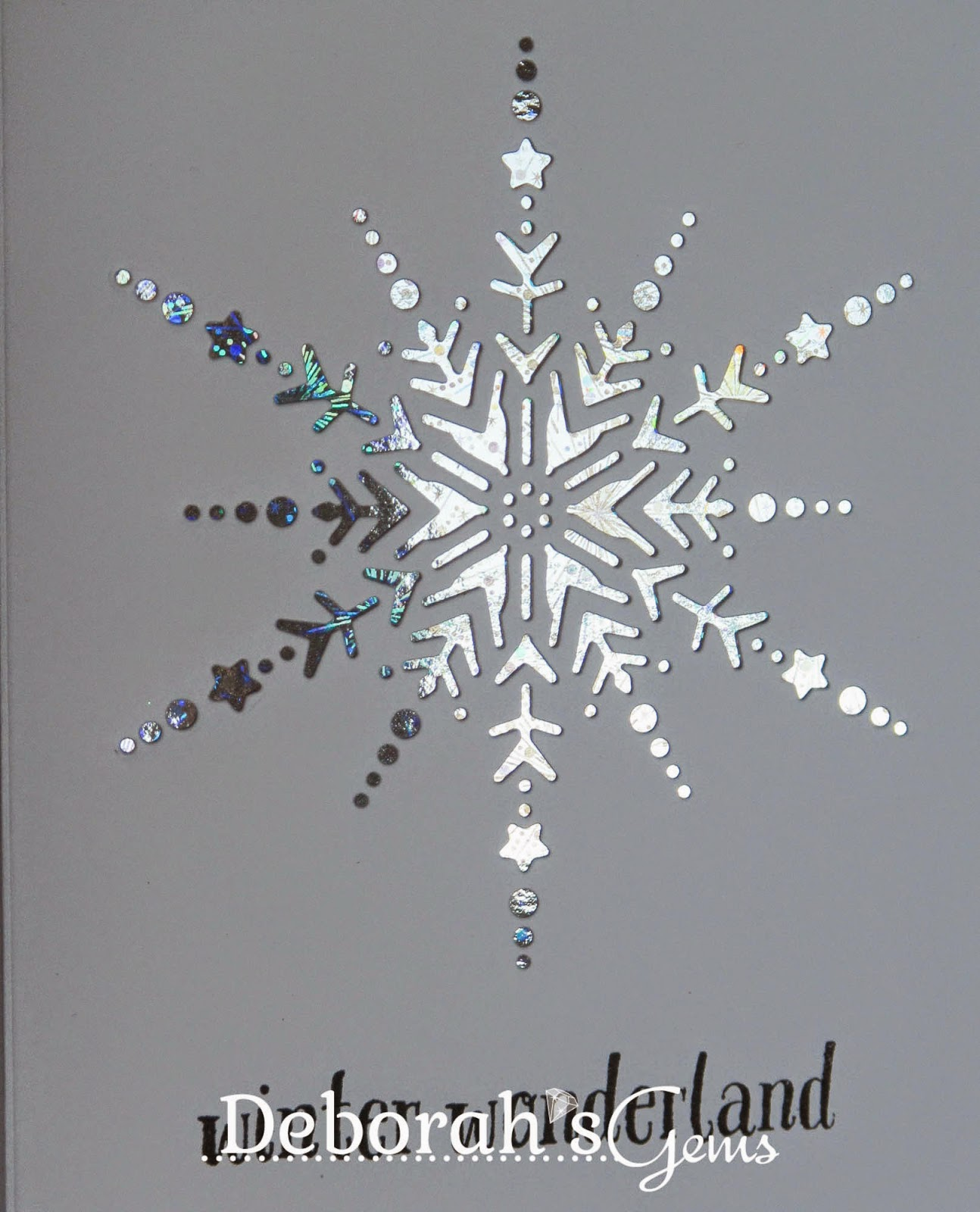 Winter Wonderland detail - photo by Deborah Frings - Deborah's Gems