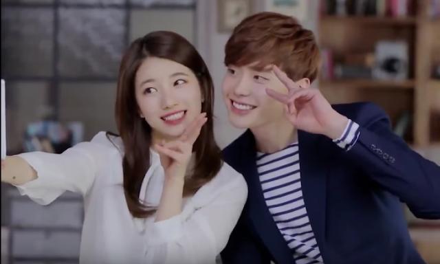 ဇာတ္လမ္းတြဲအသစ္အတြက္ ရိုက္ကူးေရးလုပ္ေနတဲ့ Suzy ႏွင့္ Lee Jong Suk