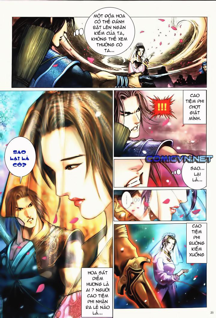 Anh hùng vô lệ Chap 10 trang 22