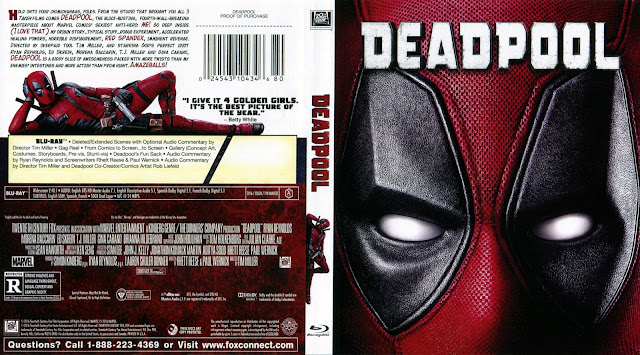 Deadpool Bluray Cover