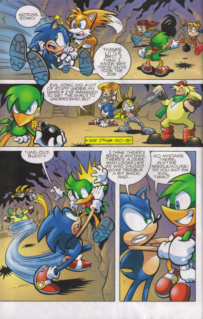 Read online Sonic The Hedgehog comic -  Issue #160 - 6
