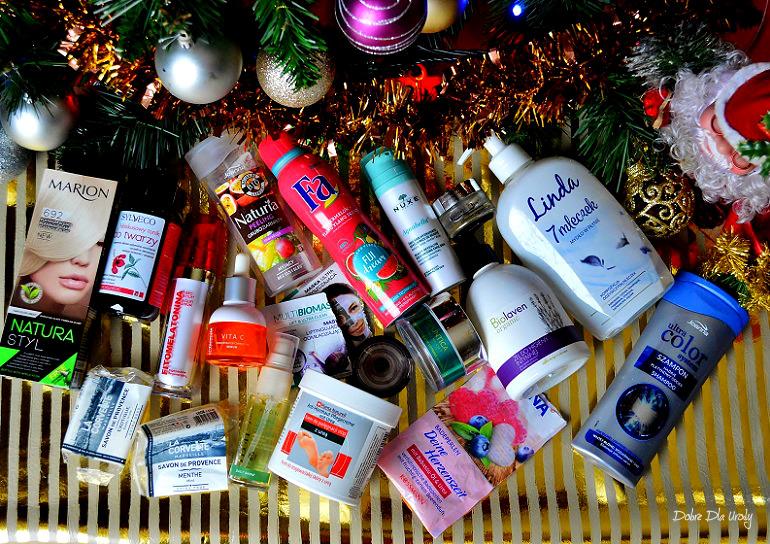 Kosmetyczne zużycia Grudnia - denko kosmetyczne w minirecenzjach