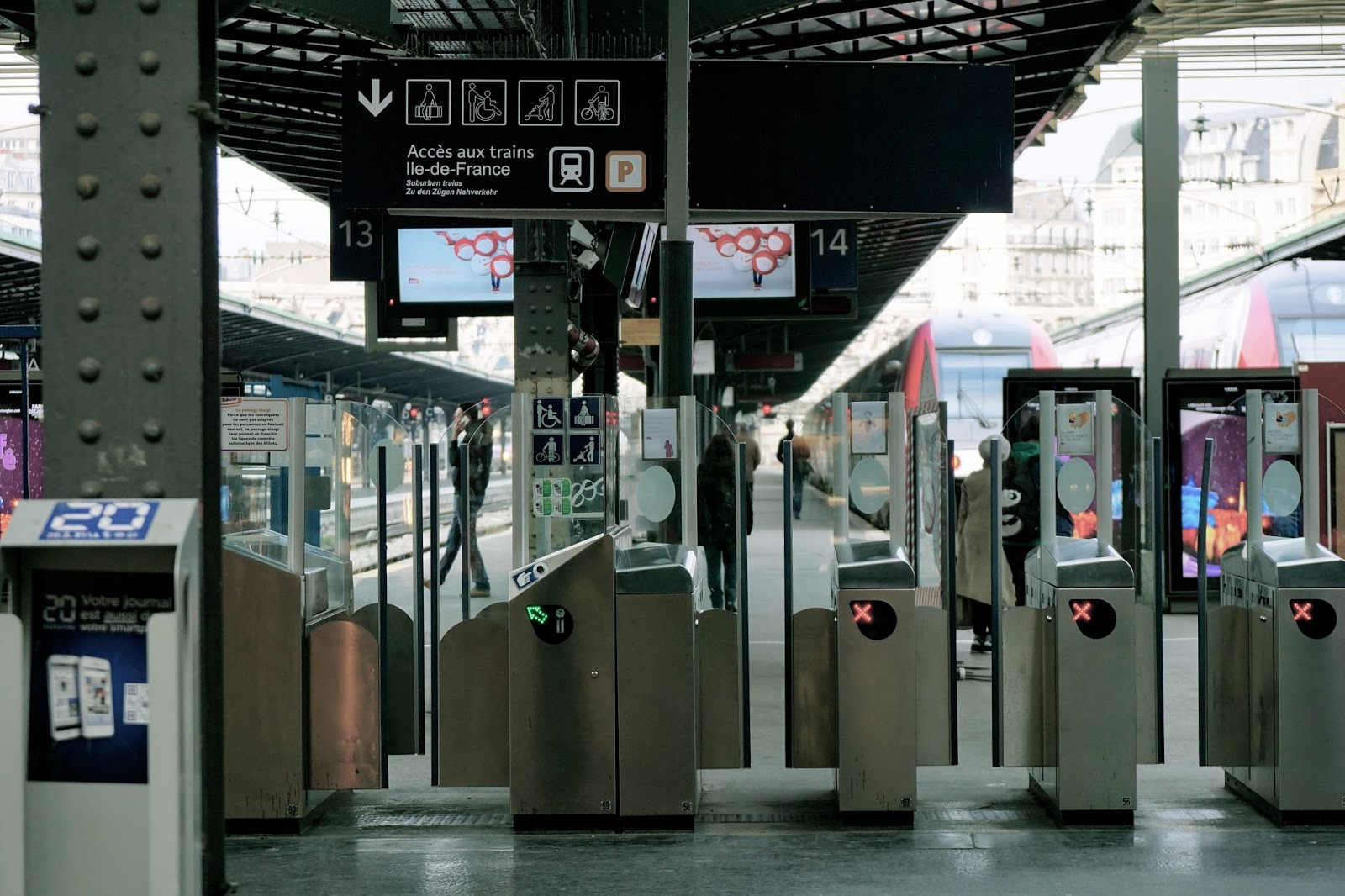 パリ東駅(Gare de l'Est)