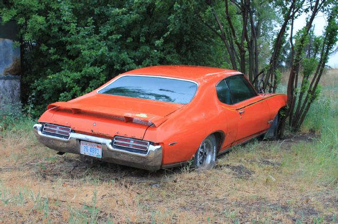 Just A Car Guy Gto Judge Spun A Bearing In 1979 And