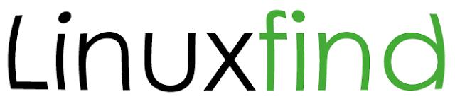 Logo Linux find