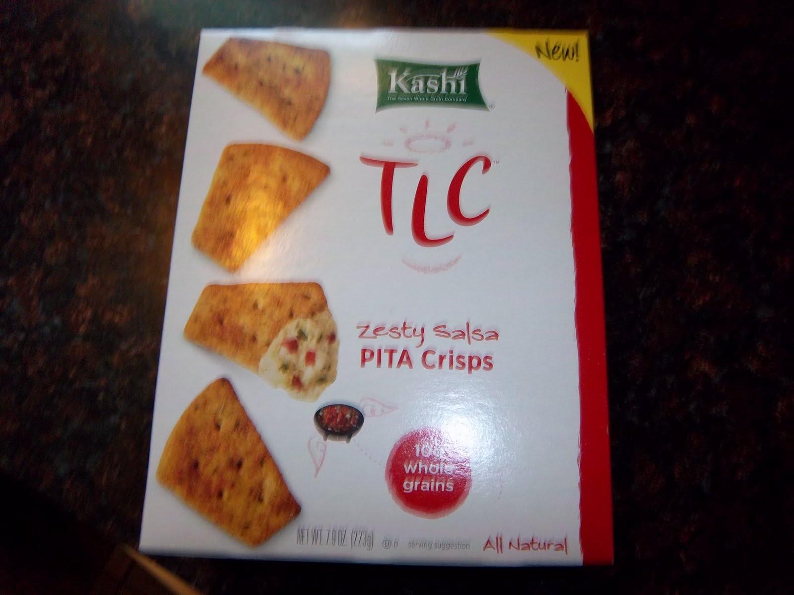 Review: Kashi TLC Pita Crisps - Zesty Salsa | If You Give A
