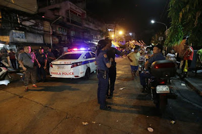 President Rodrigo Duterte's war on drugs in the streets of Manila