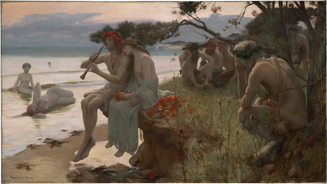 Pastorale by Rupert Bunny (1893)