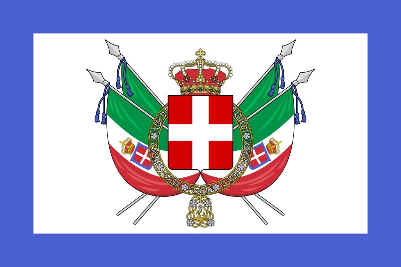 Italian Flag: The Italian Monarchist: Flags
