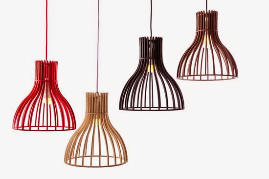 Wood & Bamboo Pendant Lights 15